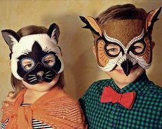 Cat Mask PDF Pattern by oxeyedaisey on Etsy