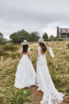 Untamed Romance - the new collection by Australian boho bridal label, Grace Loves Lace