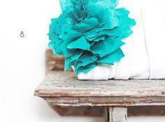 21 Tiffany Blue Wedding Ideas (via EmmalineBride.com) - clutch by eclu