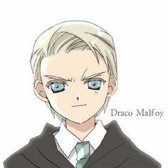 Desenhos do mundo Harry Potter: Draco Malfoy