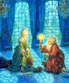 Princess and the Pea, Anton Lomaev (ill)