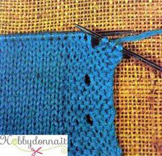 Come eseguire le asole (occhielli) in un capo in maglia - Hobbydonna.it