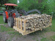 Best Indoor Garden Ideas for 2020 - Modern Firewood Rack, Firewood Storage, Shed Storage, Pallet Garden Furniture, Pallets Garden, Diy Garden Fence, Indoor Garden, Generator Shed, Rough Wood