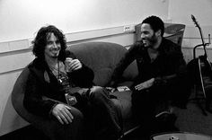 Chris Cornell and Lenny Kravitz