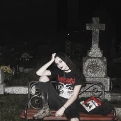 Black Metal girl - Black Metal Woman - #blackmetalgirl - #blackmetalgirls - #blackmetalwoman - bm girl - bm woman