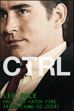 """Lee Pace as Joe MacMilan in upcoming period drama """"Halt and Catch Fire"""". Starts 1 June 2014, on AMC."""