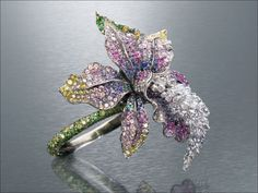 Orchid ring Anna Hu, how stunning