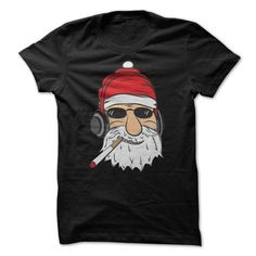 Hip Hop Santa - #diy gift #coworker gift. LOWEST SHIPPING => https://www.sunfrog.com/Christmas/Hip-Hop-Santa-Black-4769472-Guys.html?68278