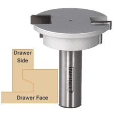 """Strong, well-fit joints are the key to quality drawer construction. Those are the joints you'll get with our drawer lock router bit, and you'll get them with speed and efficiency. Minimum material thicknesses for the Drawer Lock Joint Router Bit are 3/4"""" for the drawer front and from 1/2"""" to 3/4""""-thick for the sides. When making a box-type drawer use the same thickness material for the rear face as used for the front. The material must be flat and square ..."""