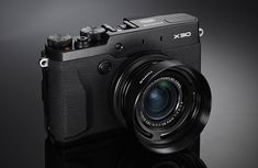 Fujifilm X30 – Stylish compact camera with premium performance