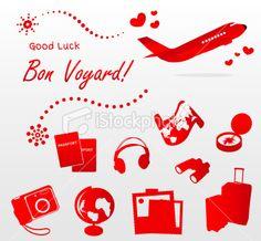 Bon Voyard good luck for your trip Stock Illustration 23168747 - iStock