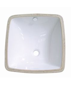 @Overstock - Update your bathroom decor with this unique sink  Lavatory sink is an undermount sink  Bathroom accessory is available in white color optionhttp://www.overstock.com/Home-Garden/Vitreous-White-China-Lavatory-Sink/2496922/product.html?CID=214117 $85.99