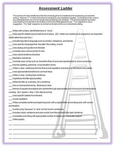 Interesting Visual of the Skill Continuum-Writing Assessment Tool~ Use this laddered list of writing skills to help set clear, easy-to-meet goals for students. High School Writing, Teaching Writing, Teaching Tips, Writing Skills, Writing Ideas, Writing Assessment, Formative Assessment, English Writing, Teaching English