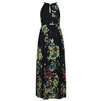 Voulez Vous Floral Print Keyhole Maxi Dress | Women | George at ASDA