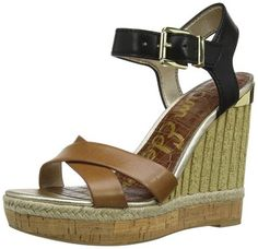 Sam Edelman Women's Clay Wedge Sandal - Favorite Summer Sandals http://trendtags.net #fashion #summer2015