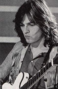 David Gilmour's cheeks. and his hair. his HAIR. *hyperventilates*