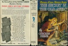 Vintage Nancy Drew White Spine Dust Jacket - Learn More about Collecting...