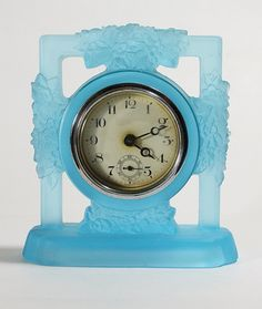 Art Deco Glass Clock Surround.