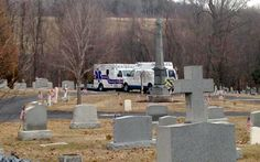 Man decorating his mother's grave when the headstone fell and crushed him to death