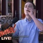 Jimmy Kimmel Pranks Hipsters With Fake Healthy Juice Made From Sugar Water - http://clickfodder.com/jimmy-kimmel-pranks-hipsters-with-fake-healthy-juice-made-from-sugar-water/