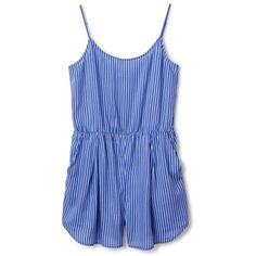 60e1b6de6f59 NEW ARRIVALS ❤ liked on Polyvore featuring romper and dresses Striped  Jumpsuit