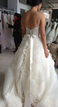 Lazaro couture wedding gowns @ Catan Fashions | Strongsville OH | www.catanfashions.com | Find the dress of your dreams !
