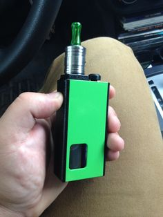 My new Reo Grand Lp in black wrinkle/Kawasaki green. Love this thing. www.reosmods.com squonk on!