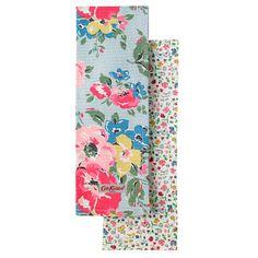 Summer Bloom (& Wildlife Ditsy) Set Of 2 Tea Towels