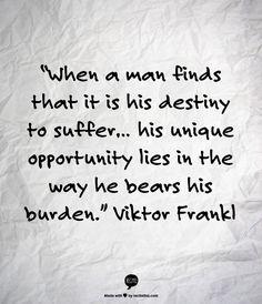 Viktor Frankl on the Art of Presence...