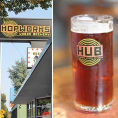 Hopworks Urban Brewery, Portland, Oregon