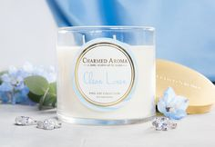 ecf1e8bc5 Charmed Aroma CLEAN LINEN RING CANDLE $27 Charmed Aroma Candles, Candle  Rings, Bath Candles