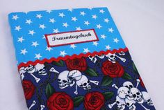 Traumtagebuch Skull&Rose von Sweet Homemade Things by christina prinz auf DaWanda.com
