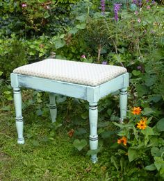 Quaint Cottage Bench Vintage Poppy Cottage by poppycottage on Etsy, $120.00