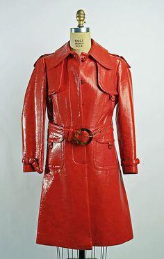 1967 raincoat Metropolitan Museum of Art