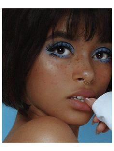 70s Makeup, Retro Makeup, Edgy Makeup, Makeup Eye Looks, Vintage Makeup, Cute Makeup, Skin Makeup, Makeup Tips, Beauty Makeup