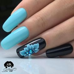 About Manicure Tables Cute Acrylic Nails, Toe Nail Art, 3d Nails, Blue Nails, Toe Nail Designs, Acrylic Nail Designs, Flower Toenail Designs, Fancy Nails, Pretty Nails