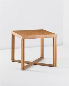 ♂ Minimalist interior design Table for the staff canteen of the National Board of Railways, Helsinki designed by Eliel Saarinen, father of Eero Saarinen