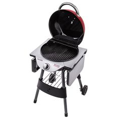 Buy Char-Broil TRU-Infrared Patio Bistro Electric Grill, Red at online store Char Broil Grill, Best Gas Grills, Infrared Grills, Clean Grill, Built In Grill, Outdoor Kitchen Design, Small Kitchen Appliances, Charcoal Grill, Chara