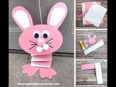 Bouncing Paper Bunny