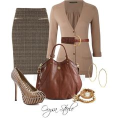 """Chic Camel"" by orysa on Polyvore"
