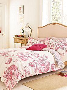 Kensington bed linen range in Pink