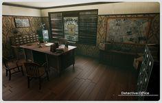 Corner Desk, Coc Online, Furniture, Home Decor, Corner Table, Decoration Home, Room Decor, Home Furnishings, Home Interior Design