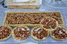 Caramel tart & little apple tartolet with walnut