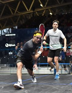Shot options tip 5: Approaching the ball at 45 degrees gives you options to hit straight or cross court, having your racket above the ball gives you the options to go long or short.   When you have both you make your opponent's life really difficult.
