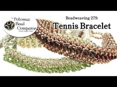 Video:  Make Tennis Bracelets (Improved Detailed) ~ Seed Bead Tutorials