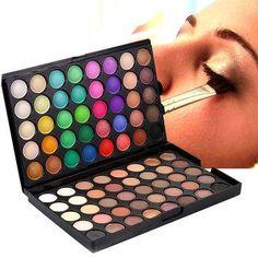 NewChic - NewChic POPFEEL 80 Colors Eyeshadow Palette Set Matte Glitter Shimmer Cosmetic Eyes Makeup - AdoreWe.com