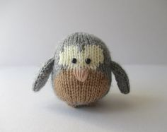 Cricklewood Owl toy knitting patterns
