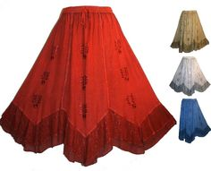 Renaissance Gypsy Clothing | DANCE GYPSY MEDIEVAL RENAISSANCE VINTAGE WEDDING EMBROIDERED COSTUME ...