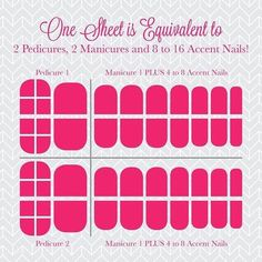 How far does 1 sheet go? You can get at least 2 manis and 2 pedis and still have enough left for accent nails! #taylorednails #sheetbreakdown #2manis2pedis #mommybusiness #naillover #treatyournails #jamberry #jamberryuk #jamberrybyelisetaylor