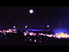 UFO Releasing Glowing Orbs Into a Formation in Western Massachusetts (UFO Invasion) - YouTube